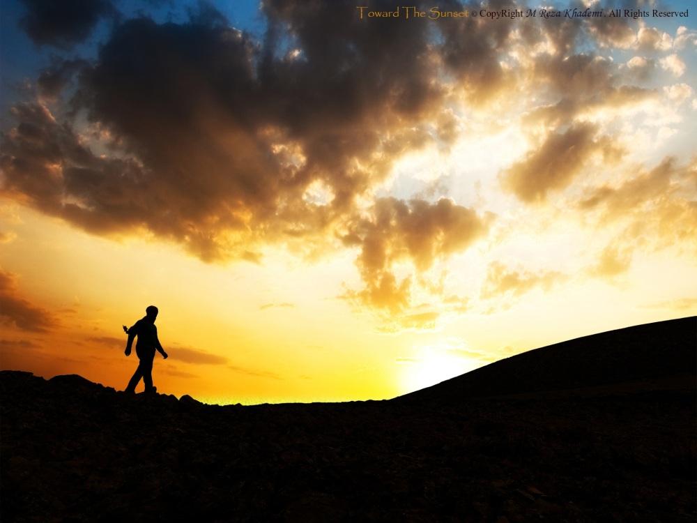 Toward The Sunset