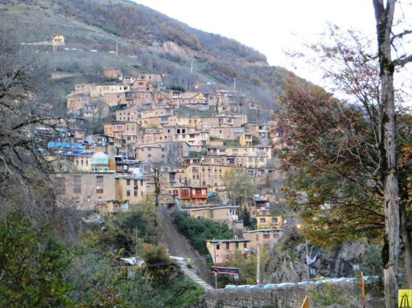 Masooleh Village in Fall