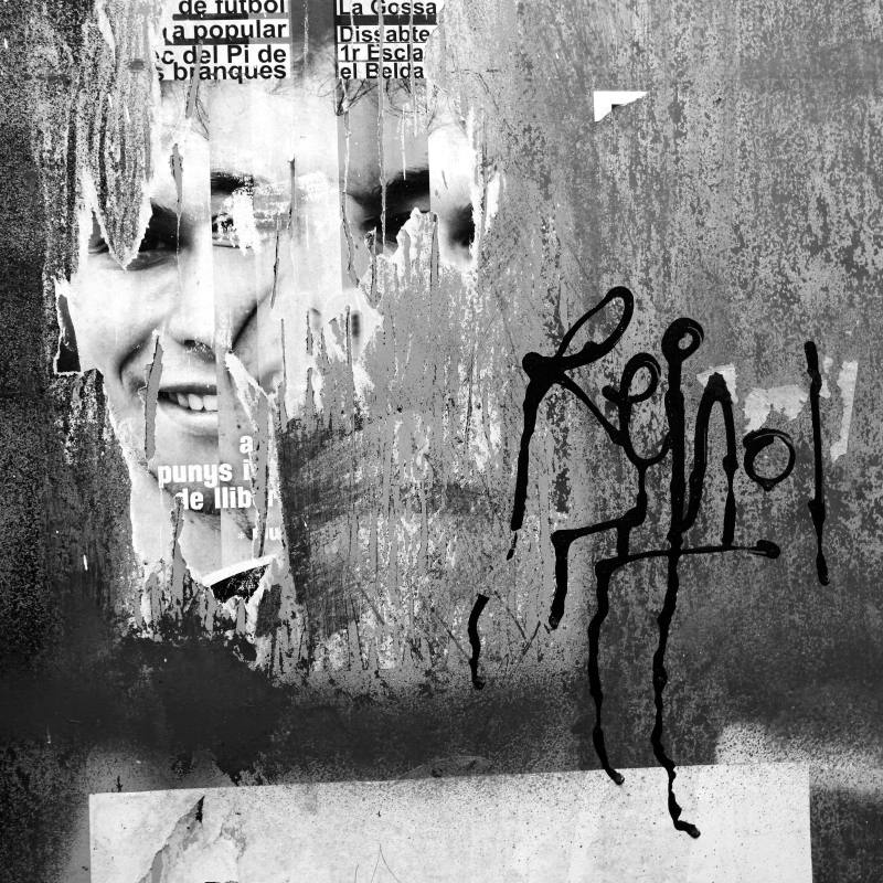 black and white,barcelona,street,photography,graff