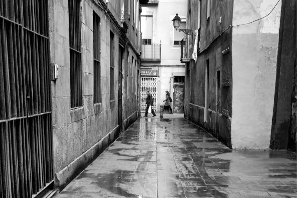 dabnotu,monochrome,barcelona,lensblr,street