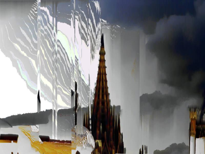 bitmap/pixel sort, barcelona, ciutat vella, gótic