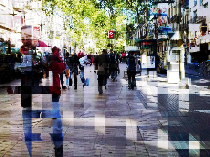 dabnotu,barcelona,street,the gimp,lensblr