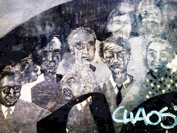 Raval, Barcelona, mural, graffiti tag, camera360.