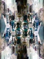 Barcelona smartphone kaleidoscopic