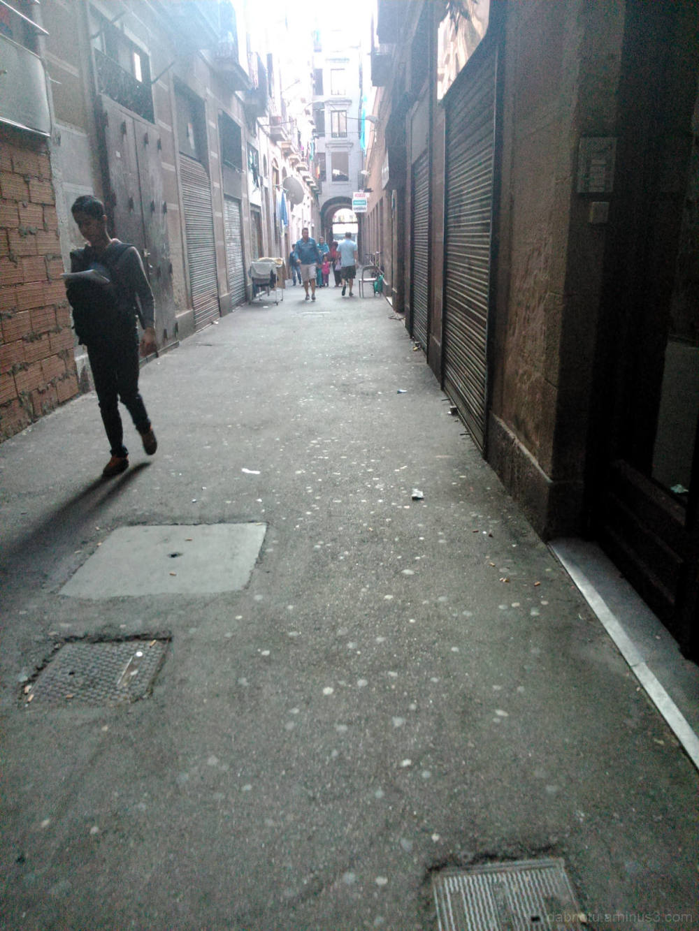 Barcelona street smartphone digital photography.