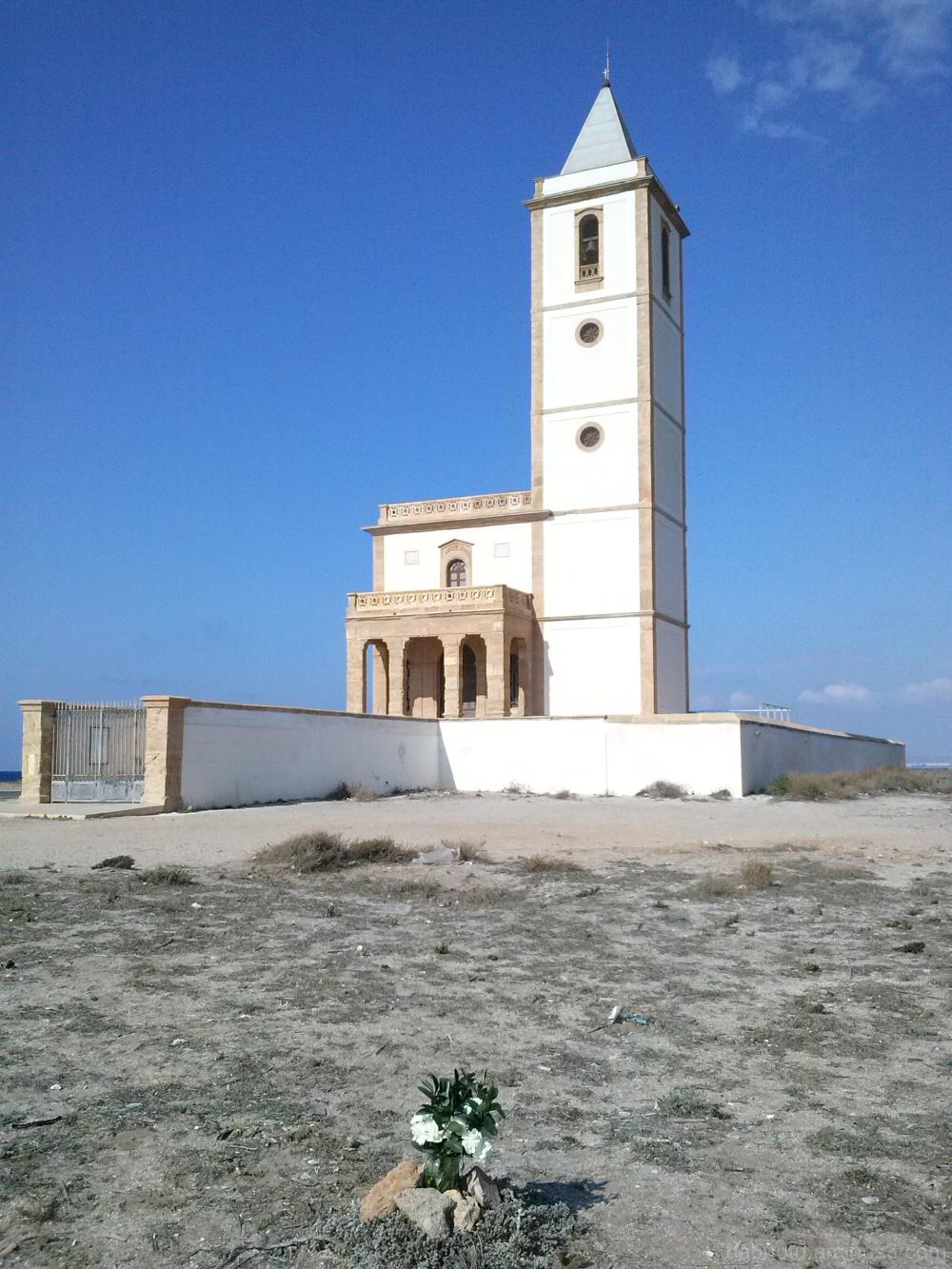 Church of the Almadraba, Cabo de Gata, Spain.