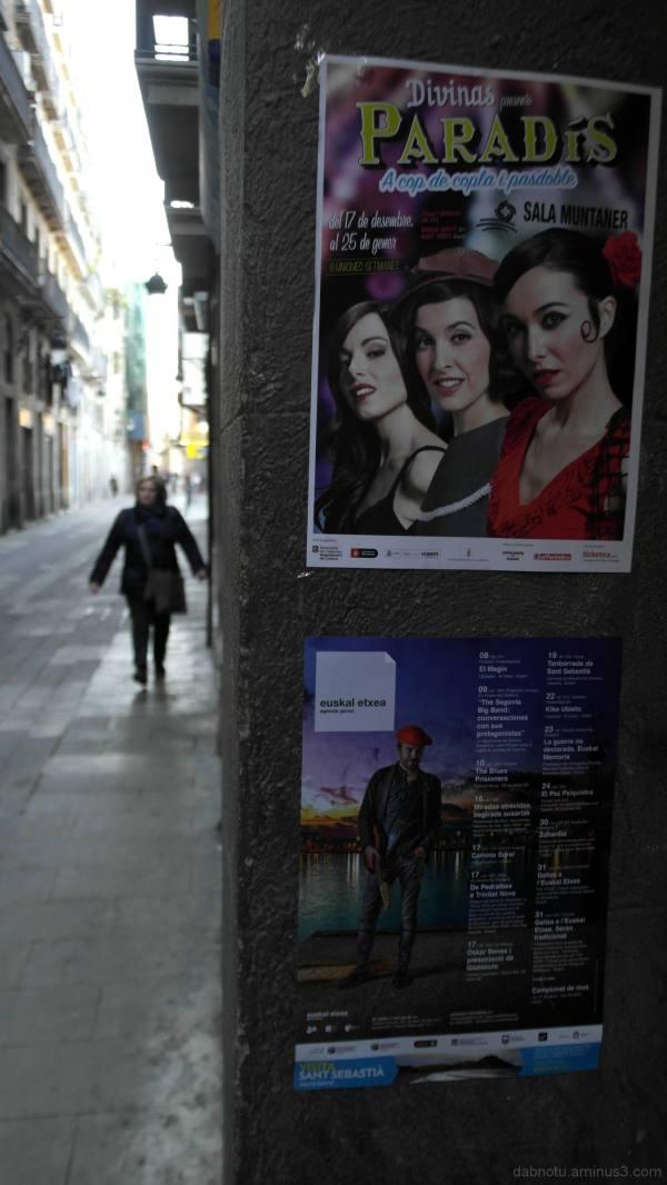 Slightly edited Barcelona/Raval street photograph.