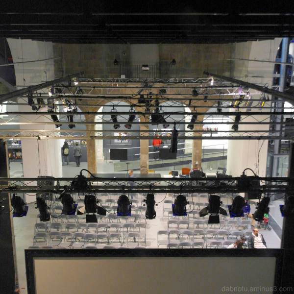 View Inside Santa Monica Arts Center, Barcelona.