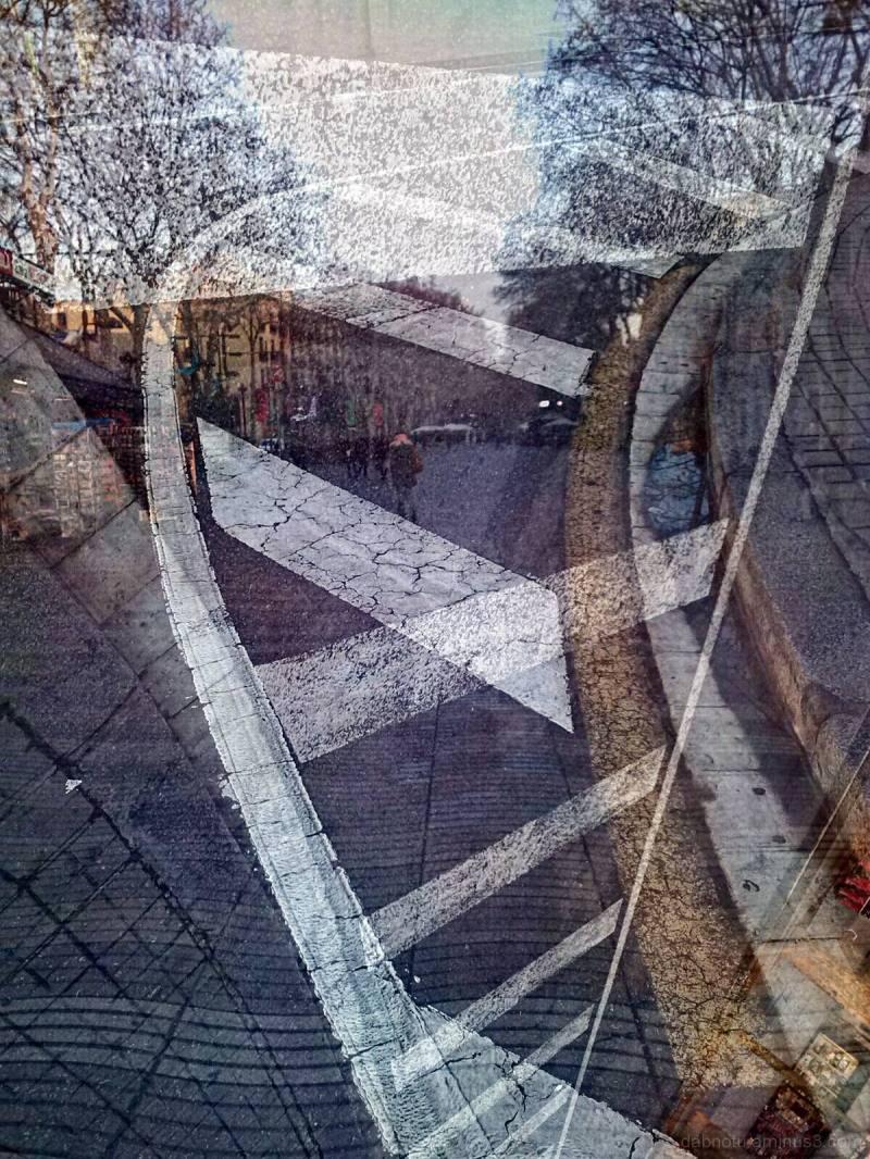 Barcelona triple exposure via smartphone + app.
