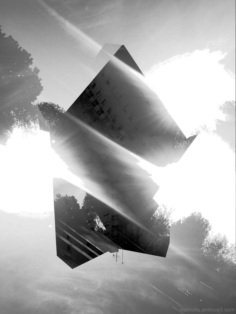 Barcelona black and white smartphonography, GIMP!