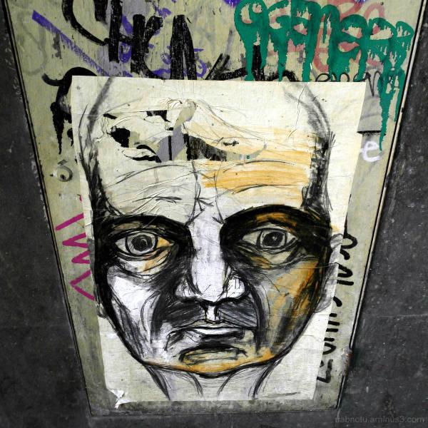 Barcelona street graffiti urban exploration + GIMP