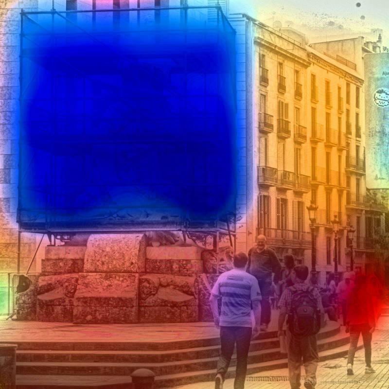 Barcelona street photography + edit w/The GIMP!