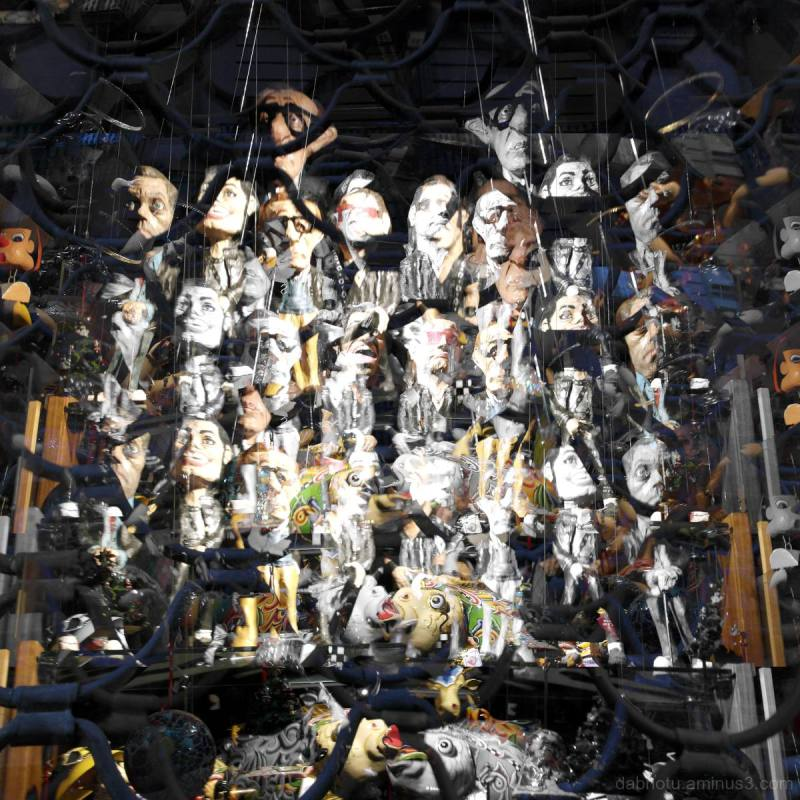 Barcelona storefront photography/photomanipulation