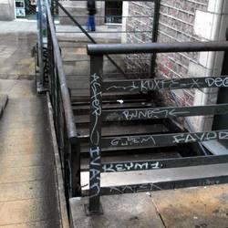 Urban exploration/street photography + The GIMP!