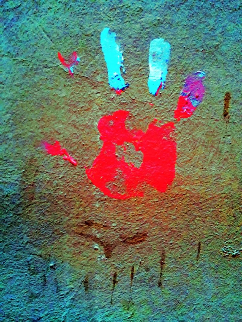 Barcelona urban exploration smartphone image edit.