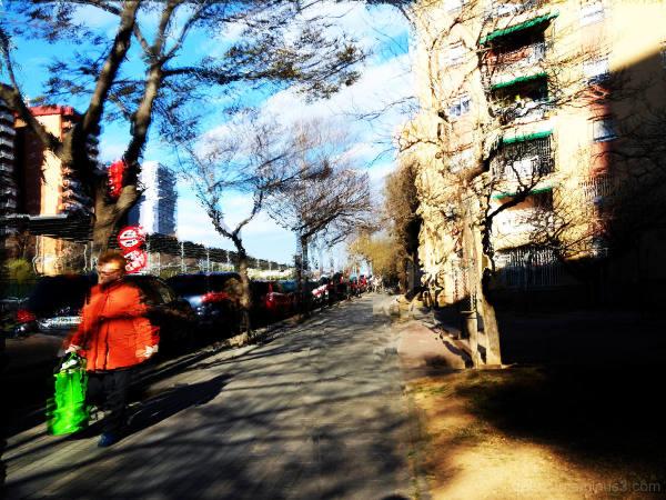 GNU Image Manipulation Program street photography.