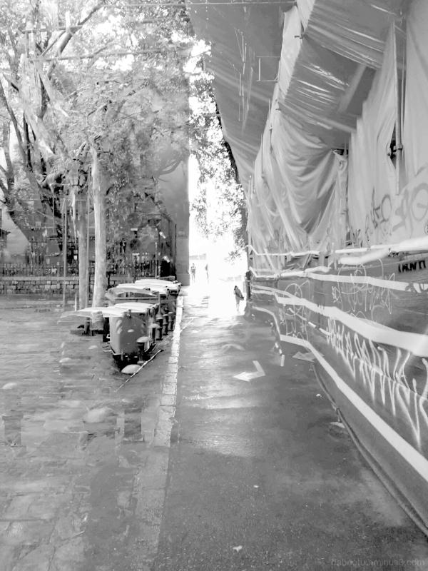 Barcelona monochromatic street photography.
