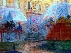 Made with smartphone/ASCIICam/pixelsort.me/GIMP.