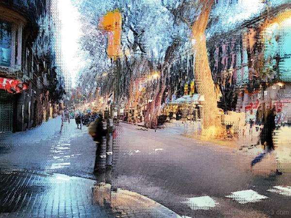 Smartphone + The GNU Image Manipulation Program.