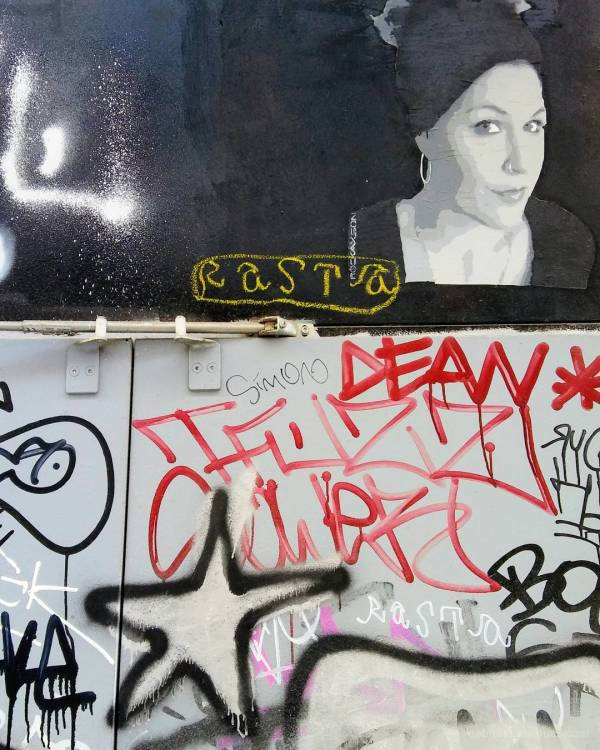 Slightly edited urban art exploration, Barcelona.