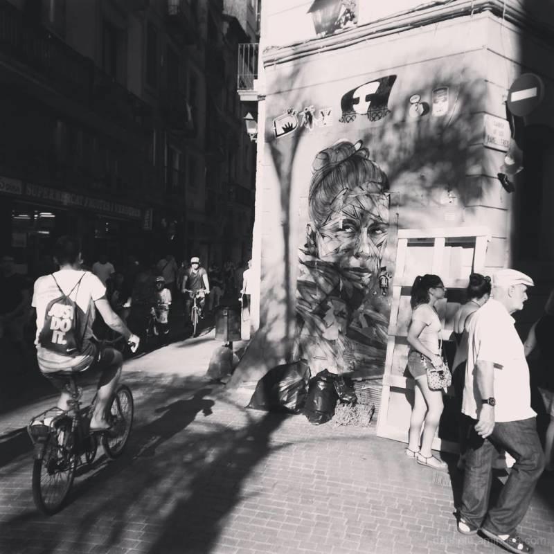Barcelona edited smart/treet photography image.