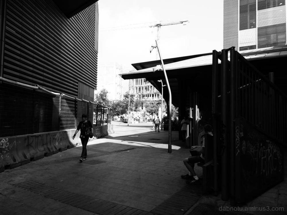 #Barcelona #edited #smart/street photography.