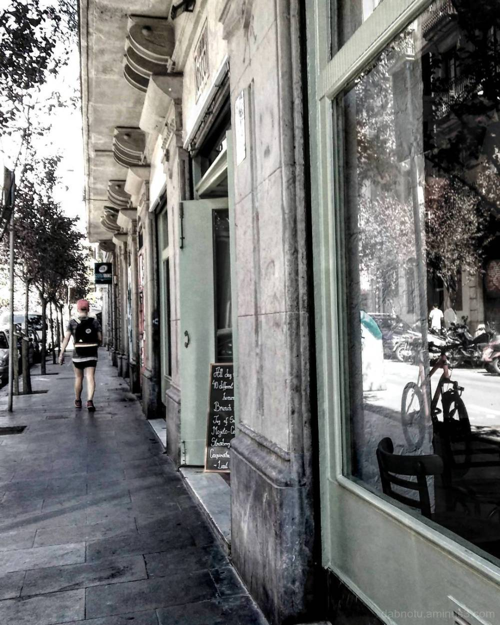 Barcelona edited smart / street photography.