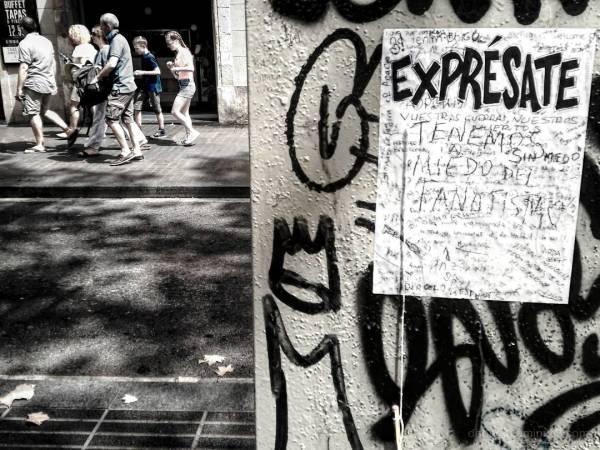 Barcelona infrared edited smart/streetphotography.