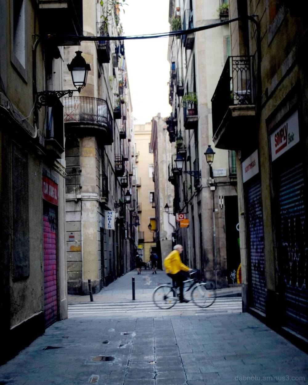 Barcelona edited street photography.