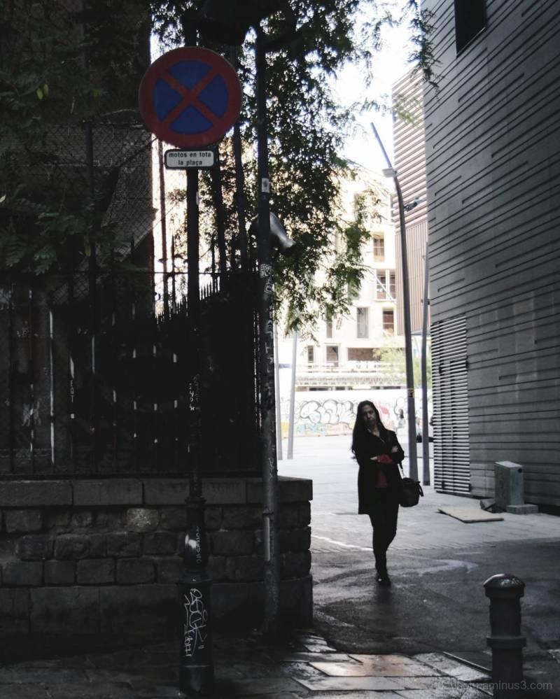 Barcelona edited urban/street photography.