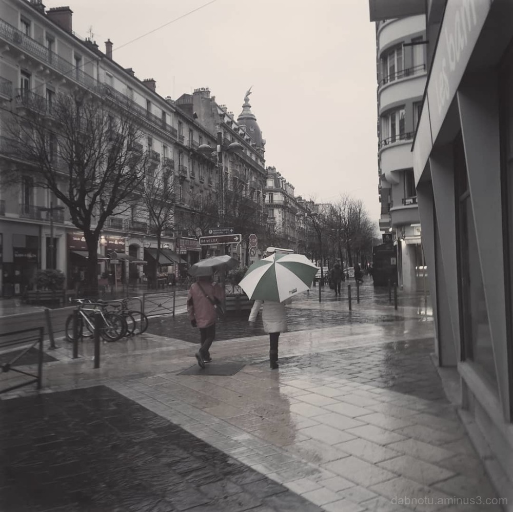 #Grenoble #France #Europe #rainydayrainallday