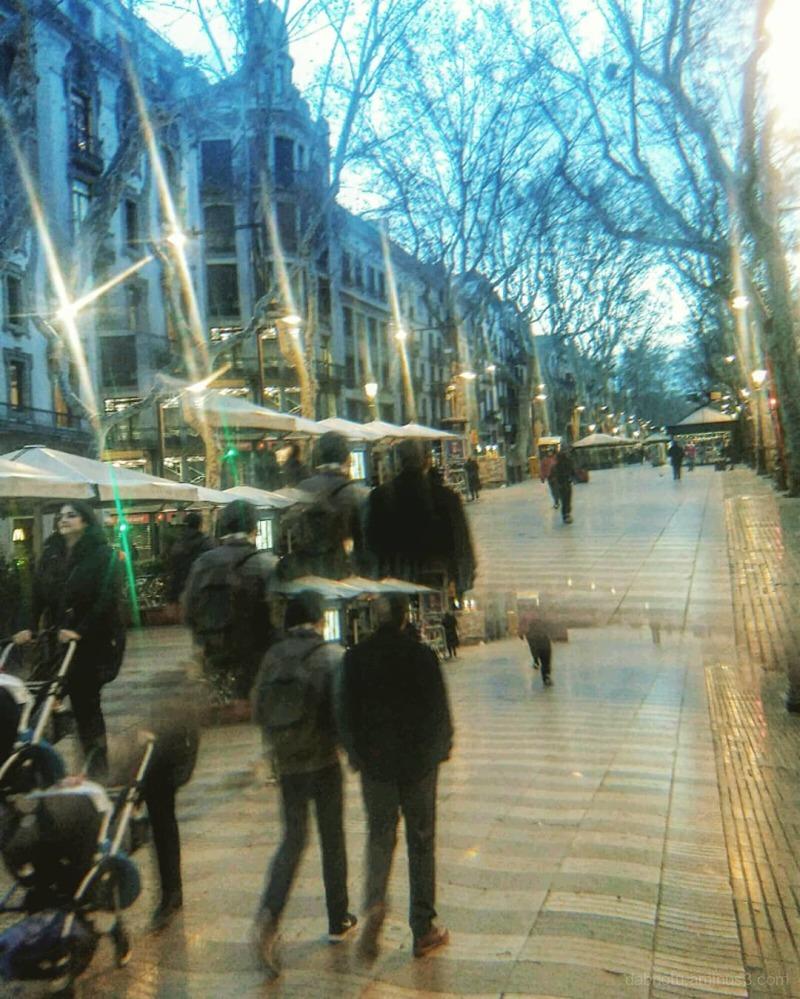 #LaRambla #CiutatVella #Barcelona #Cataluña