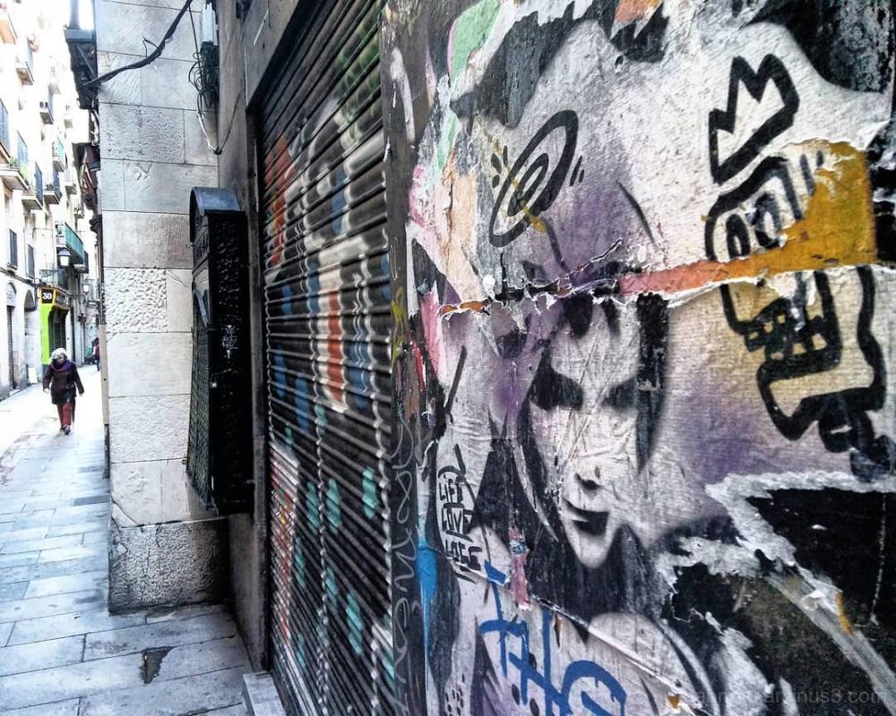 #carrerdelaboqueria #barrigòtic #ciutatvella