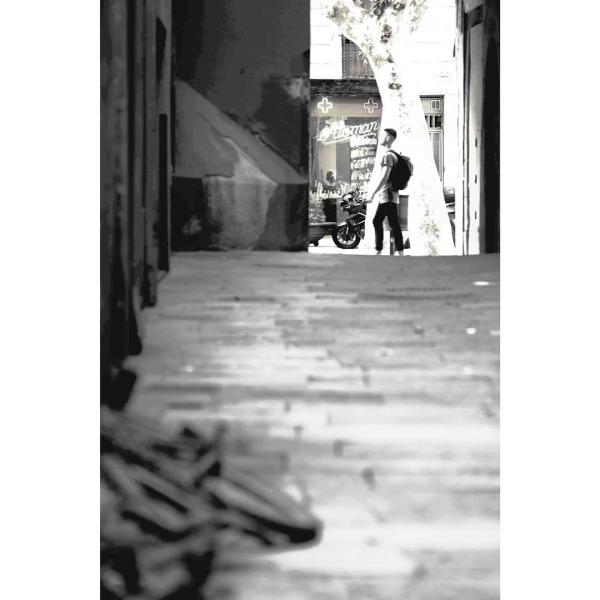 #barcelona #desaturated #streetphotography #xt1