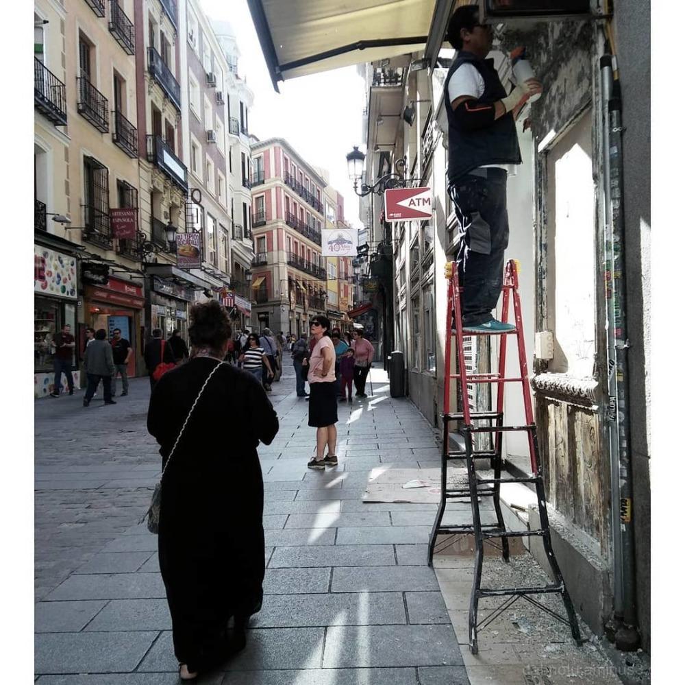 #Madrid #Spain #EuropeanUnion #LGK10 #Smartphone