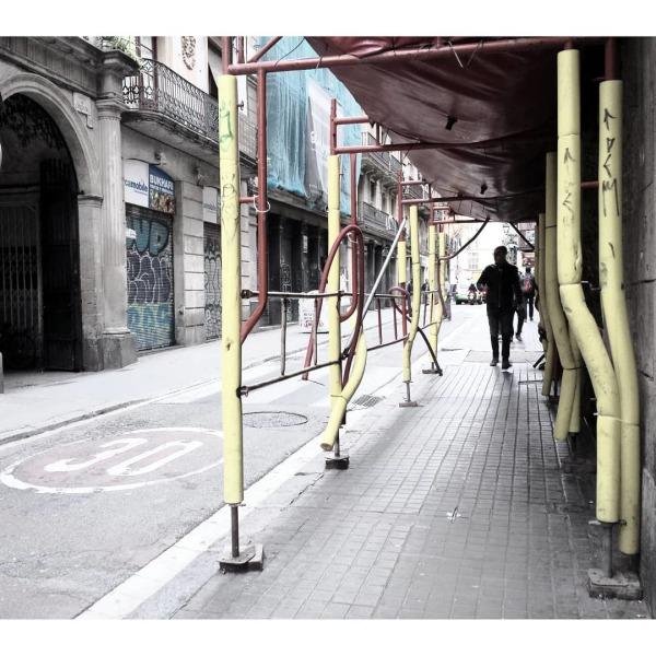 #CarrerDeLHospital #ElRavalSud #CiutatVella #EU