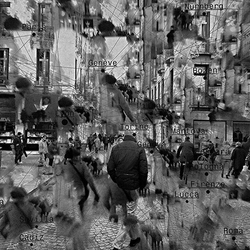 #BlackAndWhite or #Grayscale #TripleExposure image