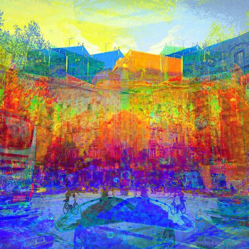 #Eixample #Barcelona #Catalonia #Spain #Europe
