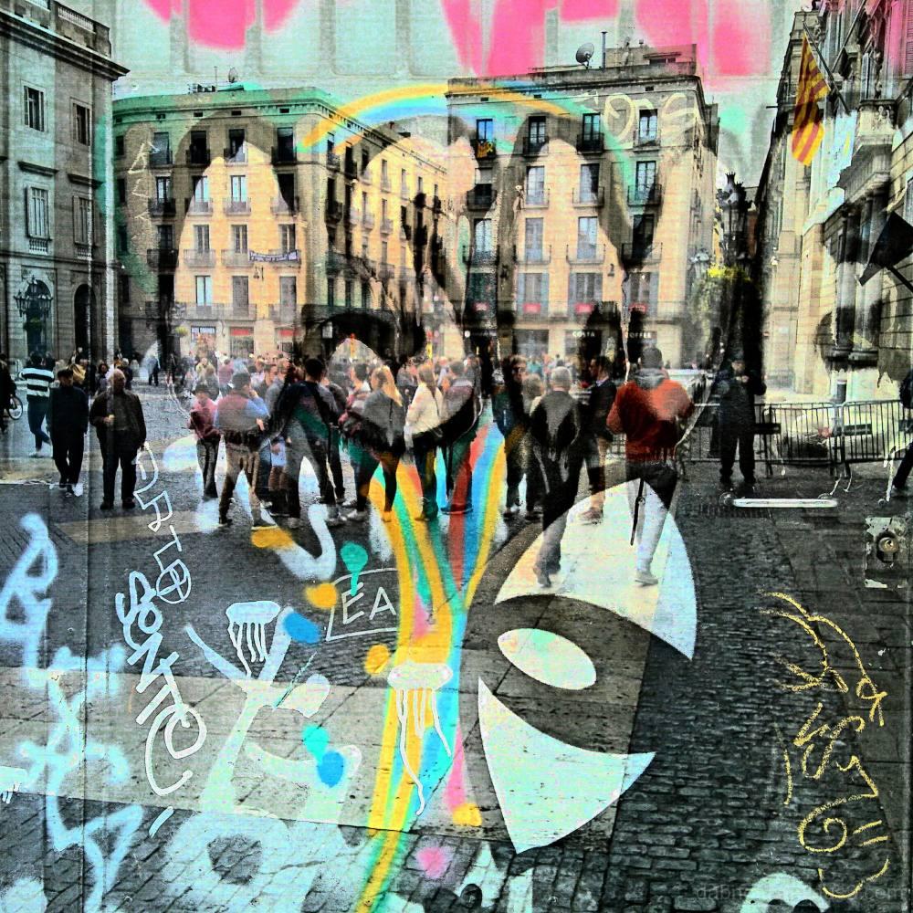 #Barcelona #Catalonia #Spain #Europe #Street