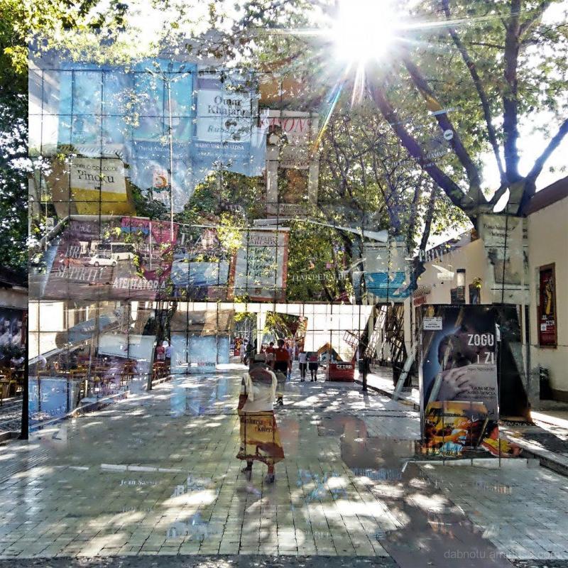 #Tirane #Albania #DoubleExposure #StreetPhotograph