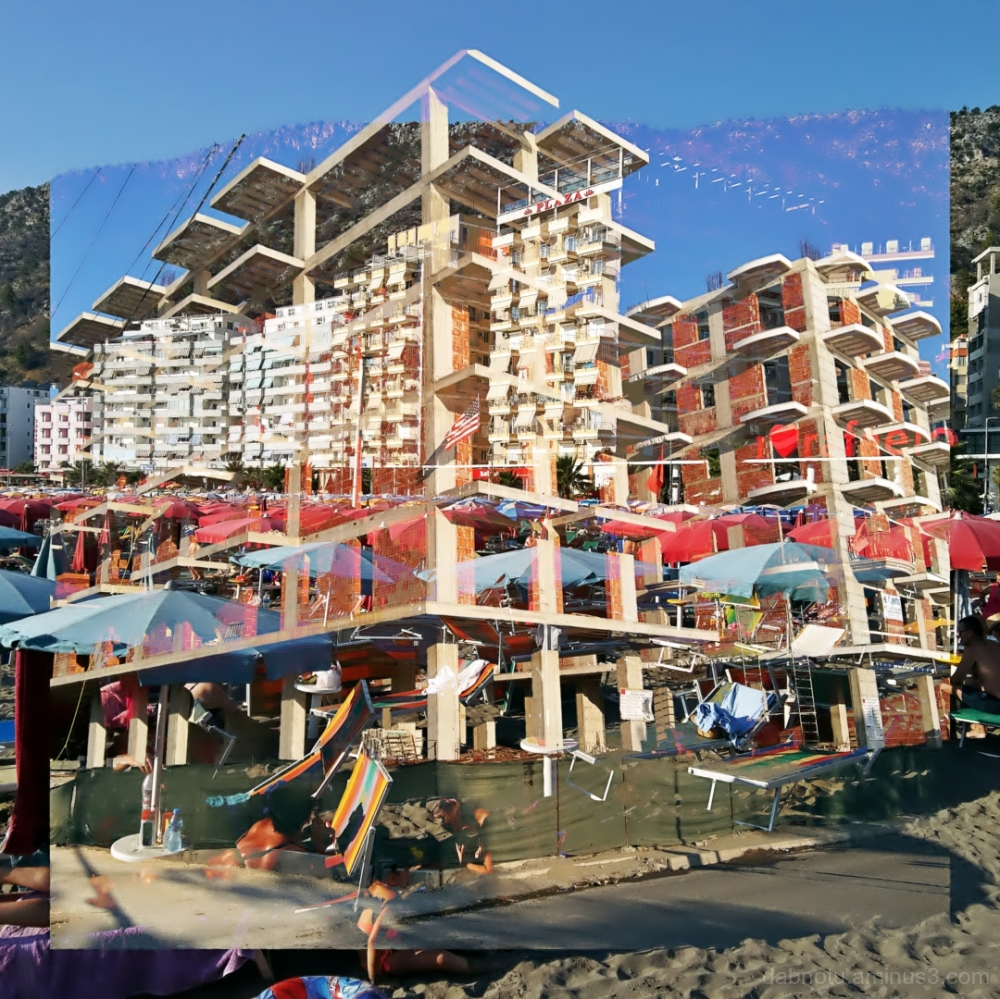 #Shëngjin #Albania #DoubleExposure #Street