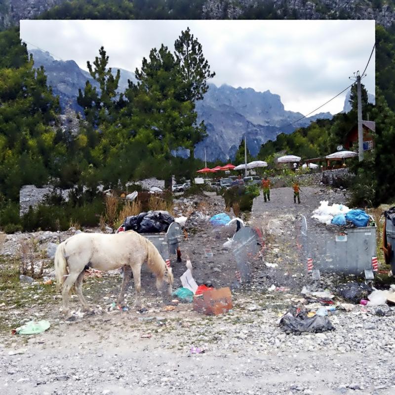 #Thethi #Albania #DoubleExposure #Street