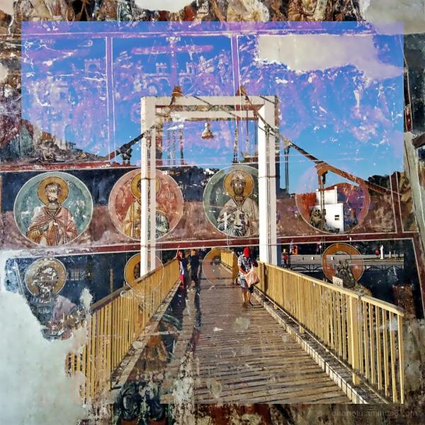 #Berat #Albania #DoubleExposure #StreetPhotography
