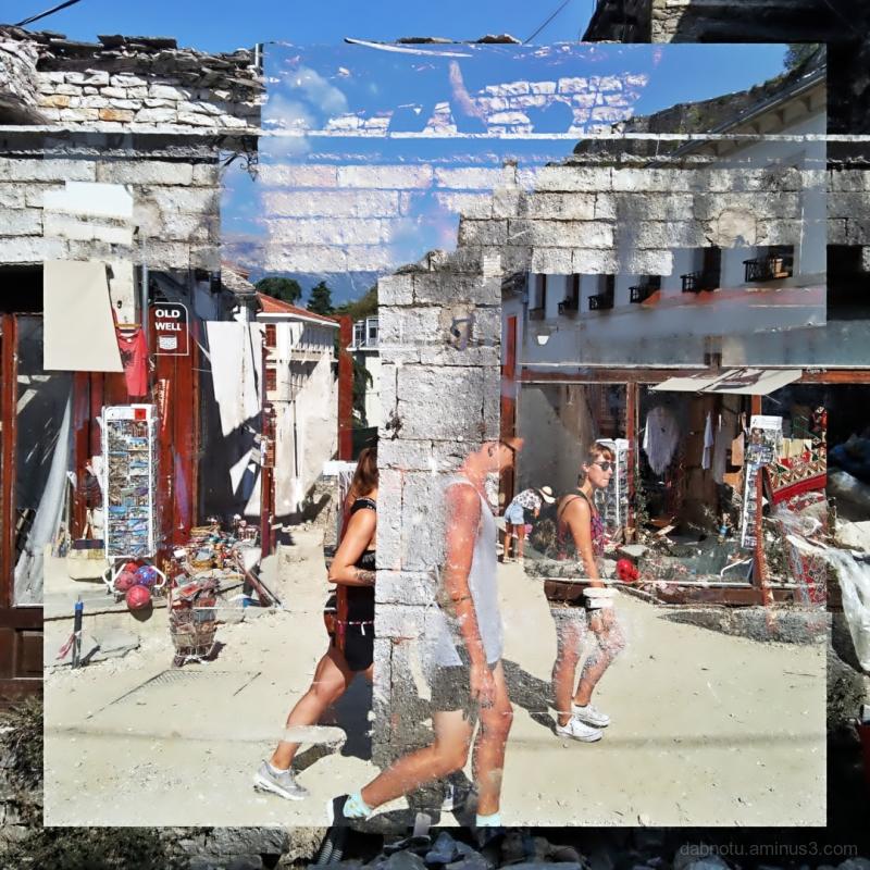 #Gjirokastër #Albania #DoubleExposure #Street