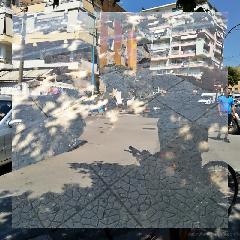 #Sarandë #Albania #DoubleExposure #Street