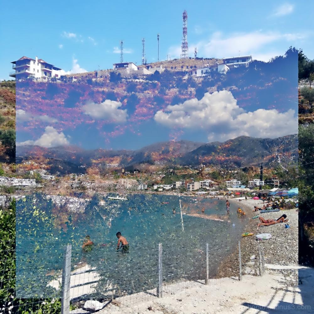 #Himarë #Albania #DoubleExposure #Street