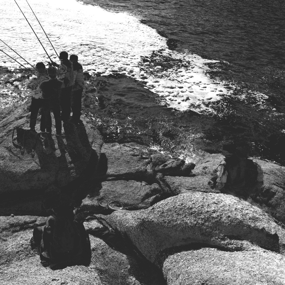A scene in Praia do Ancora, Galicia, Spain.
