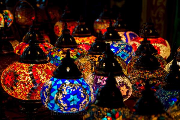 Iluminação colorida