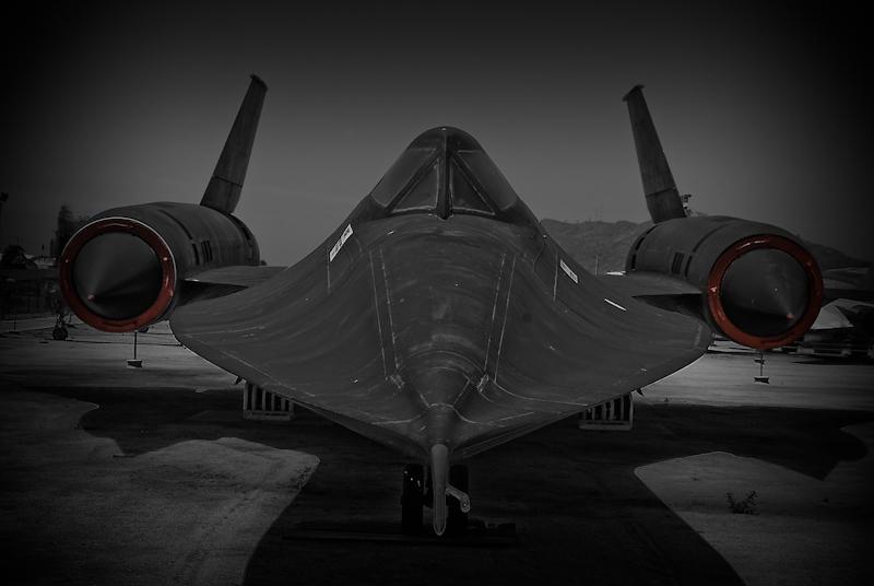 :: March Air Museum - Lockheed SR-71A Blackbird ::