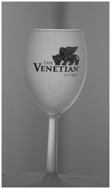 The Venetian Las Vegas, wine glass